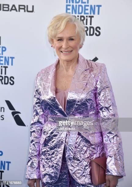 Glenn Close attends the 2019 Film Independent Spirit Awards on February 23 2019 in Santa Monica California