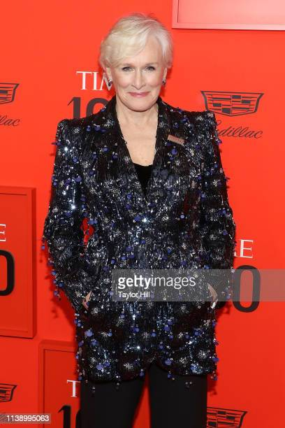 Glenn Close attends the 2019 Time 100 Gala at Frederick P Rose Hall Jazz at Lincoln Center on April 23 2019 in New York City