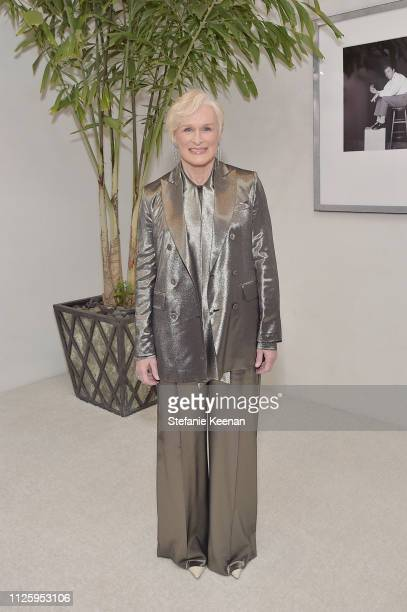 Glenn Close attends The 21st CDGA at The Beverly Hilton Hotel on February 19 2019 in Beverly Hills California