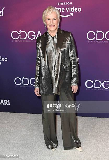 Glenn Close attends The 21st CDGA at The Beverly Hilton Hotel on February 19, 2019 in Beverly Hills, California.