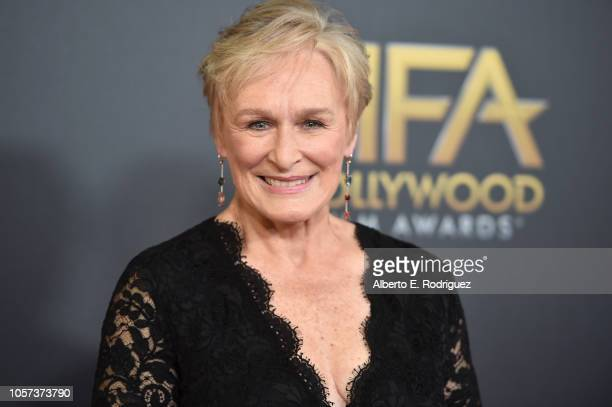 Glenn Close attends the 22nd Annual Hollywood Film Awards at The Beverly Hilton Hotel on November 4 2018 in Beverly Hills California