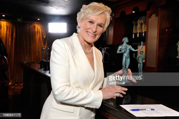 Glenn Close attends the 25th Annual Screen Actors Guild Awards at The Shrine Auditorium on January 27 2019 in Los Angeles California 480720