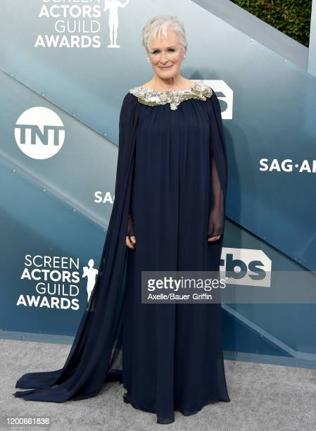 Glenn Close attends the 26th Annual Screen Actors Guild Awards at The Shrine Auditorium on January 19 2020 in Los Angeles California