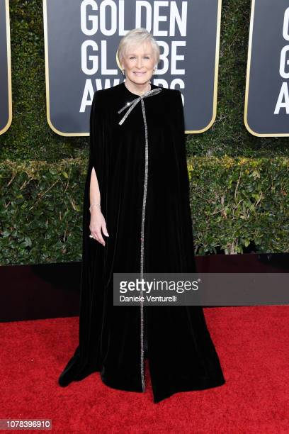 Glenn Close attends the 76th Annual Golden Globe Awards at The Beverly Hilton Hotel on January 6 2019 in Beverly Hills California