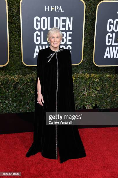 Glenn Close attends the 76th Annual Golden Globe Awards at The Beverly Hilton Hotel on January 06 2019 in Beverly Hills California