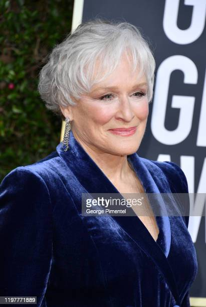 Glenn Close attends the 77th Annual Golden Globe Awards at The Beverly Hilton Hotel on January 05, 2020 in Beverly Hills, California.