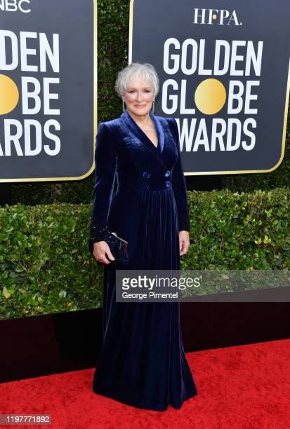 Glenn Close attends the 77th Annual Golden Globe Awards at The Beverly Hilton Hotel on January 05 2020 in Beverly Hills California