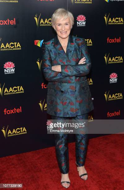 Glenn Close attends the 8th AACTA International Awards on January 4 2019 in Los Angeles California