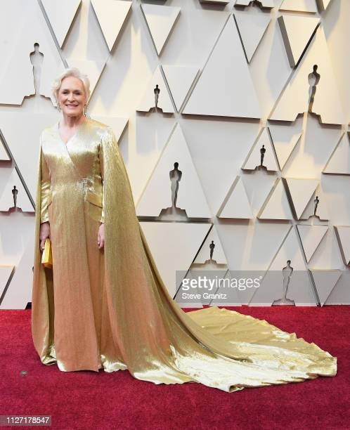 Glenn Close attends the 91st Annual Academy Awards at Hollywood and Highland on February 24 2019 in Hollywood California