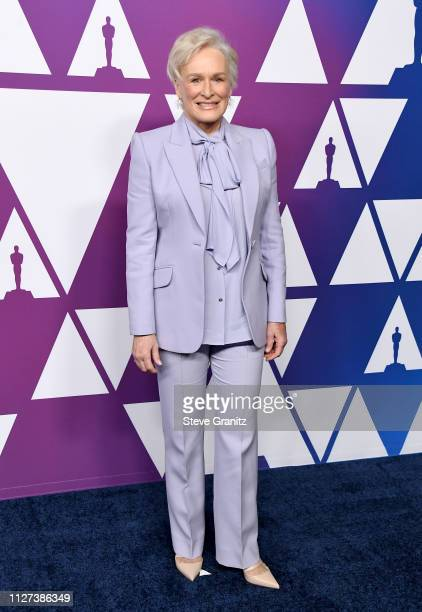Glenn Close attends the 91st Oscars Nominees Luncheon at The Beverly Hilton Hotel on February 04 2019 in Beverly Hills California