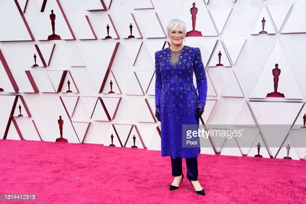 Glenn Close attends the 93rd Annual Academy Awards at Union Station on April 25, 2021 in Los Angeles, California.