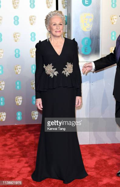 Glenn Close attends the EE British Academy Film Awards at Royal Albert Hall on February 10 2019 in London England