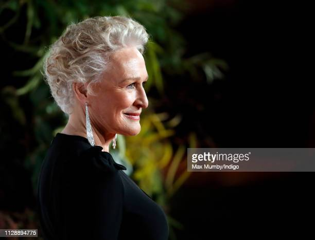 Glenn Close attends the EE British Academy Film Awards at the Royal Albert Hall on February 10 2019 in London England