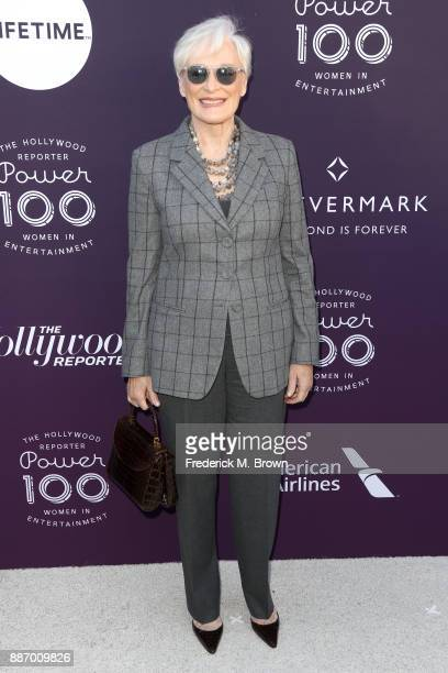 Glenn Close attends The Hollywood Reporter's 2017 Women In Entertainment Breakfast at Milk Studios on December 6 2017 in Los Angeles California