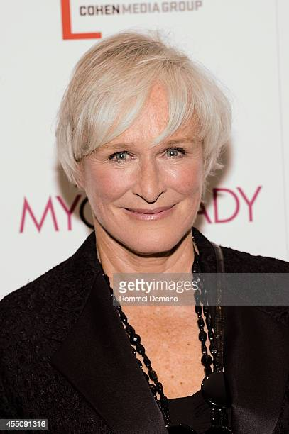 Glenn Close attends the My Old Lady New York Premiere at Museum of Modern Art on September 9 2014 in New York City