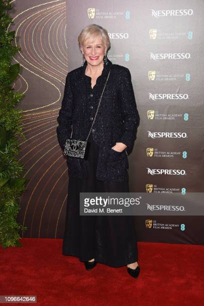 Glenn Close attends the Nespresso British Academy Film Awards nominees party at Kensington Palace on February 9 2019 in London England