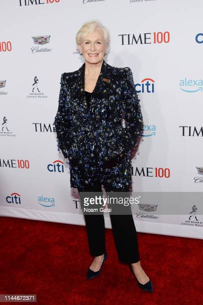 Glenn Close attends the TIME 100 Gala 2019 Lobby Arrivals at Jazz at Lincoln Center on April 23 2019 in New York City