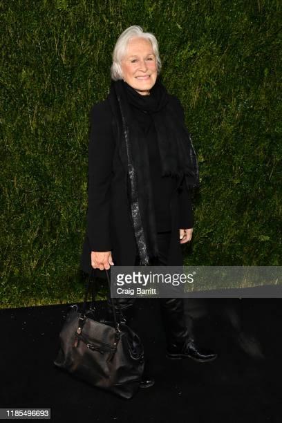Glenn Close attends Through Her Lens: The Tribeca CHANEL Women's Filmmaker Program Luncheon at Locanda Verde on November 04, 2019 in New York City.