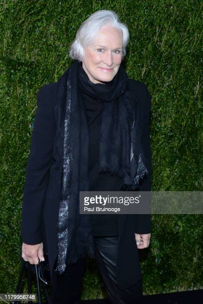 Glenn Close attends Through Her Lens/Tribeca Chanel Women's Filmmaker Program Luncheon on November 4, 2019 at Locanda Verde in New York City.