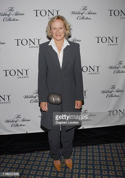 Glenn Close during 60th Annual Tony Awards Cocktail Celebration at The Waldorf Astoria in New York City New York United States