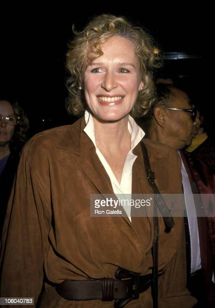 Glenn Close during 'Dangerous Liaisons' Los Angeles Premiere December 11 1988 at AMC Century City 14 in Los Angeles California United States