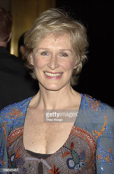 Glenn Close during Sesame Street Celebrates 35 Years of Making A Difference in the Lives at Gala Honoring Kofi and Nane Annan at Cipriani in New York...