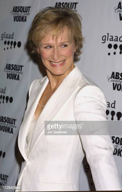 Glenn Close during The 13th Annual GLAAD Media Awards - New York - Arrivals at New York Marriott Marquis in New York City, New York, United States.