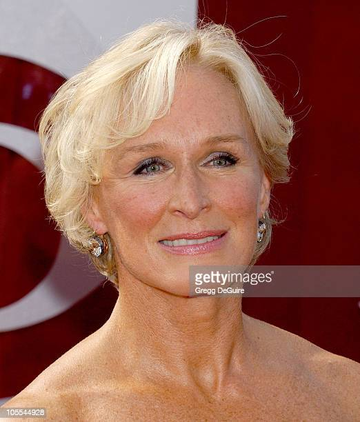 Glenn Close during The 57th Annual Emmy Awards Arrivals at Shrine Auditorium in Los Angeles California United States
