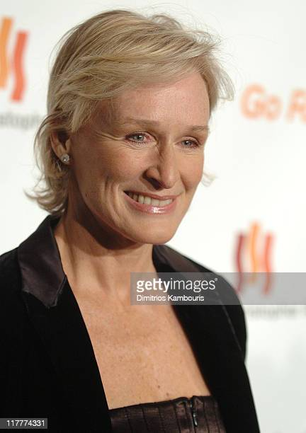 """Glenn Close during The Christopher Reeve Foundation's """"A Magical Evening"""" - Red Carpet at Marriott Marquis in New York, New York, United States."""
