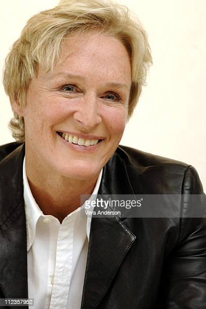 """Glenn Close during """"The Shield"""" Press Conference with Glenn Close and Michael Chiklis at Four Seasons Hotel in Beverly Hills, California, United..."""