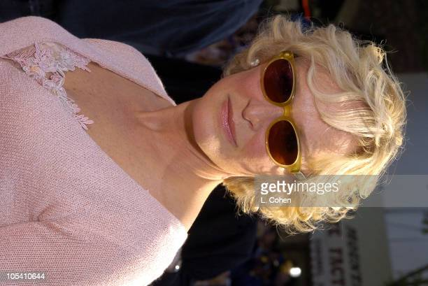 Glenn Close during The Stepford Wives-Red Carpet at Mann's Bruin Theatre in Westwood, California, United States.