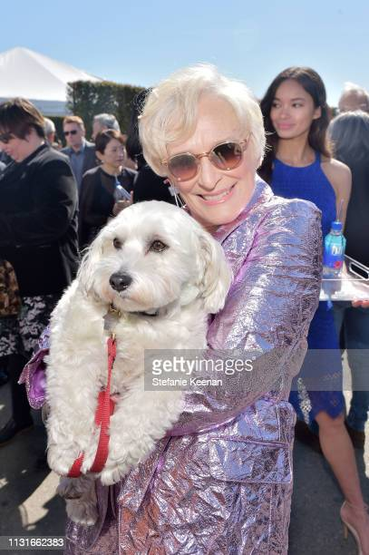 Glenn Close with FIJI Water during the 2019 Film Independent Spirit Awards on February 23 2019 in Santa Monica California