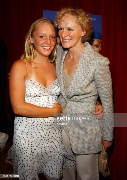 Glenn Close with her daughter Annie during 'Le Divorce' New York Premiere After Party at The Plaza Hotel in New York City New York United States