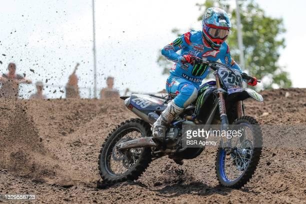 Glenn Coldenhoff NED Yamaha Monster Energy Yamaha Factory MXGP during the 2021 FIM MXGP 1e race Motocross World Championships, on July 18, 2021 in...