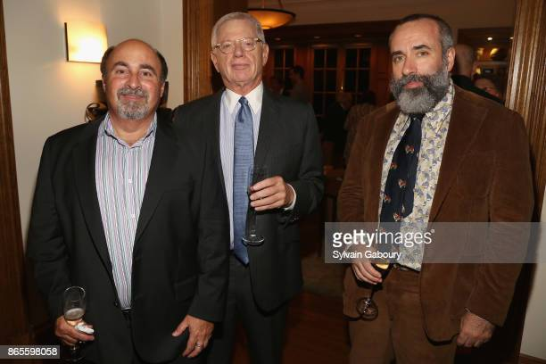 Glenn Dranoff David Tunick and Carey Leibowitz attend IFPDA Foundation's 2017 Patrons Circle cocktail benefit at October 23 2017 in New York City