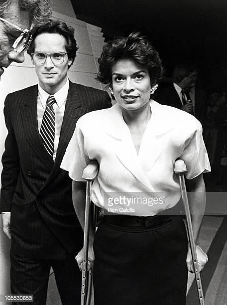 Glenn Dubin and Bianca Jagger during Bianca Jagger at Elaine's at Elaine's in New York City, New York, United States.
