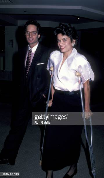 Glenn Dubin and Bianca Jagger during Film Fund's 1st Annual Benefit Salute Honoring Harry Belafonte at Ziegfeld Theater in New York City, New York,...