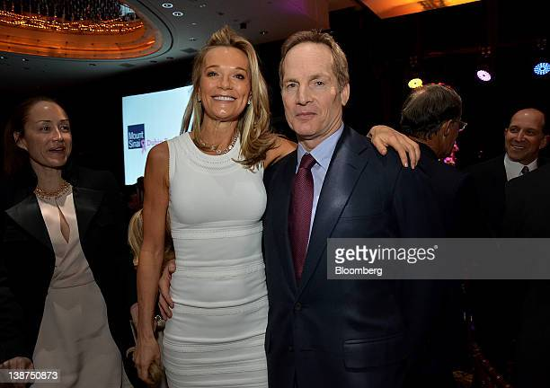 Glenn Dubin chairman and chief executive officer of Highbridge Capital Management LLC right and Dr Eva AnderssonDubin internist at National...