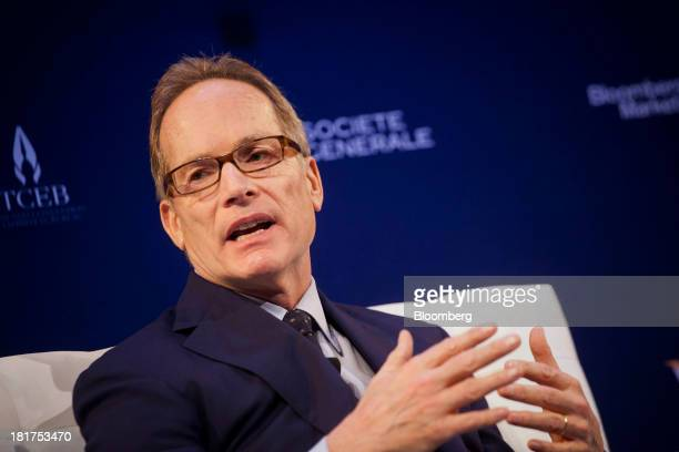 Glenn Dubin, co-founder of Highbridge Capital Management LLC, speaks at the Bloomberg Markets 50 Summit in New York, U.S., on Tuesday, Sept. 24,...