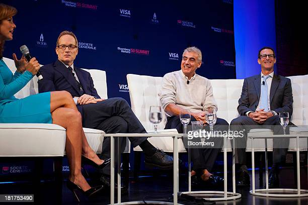 Glenn Dubin, Glenn Dubin, co-founder of Highbridge Capital Management LLC, from second left, Marc Lasry, chief executive officer and co-founder of...