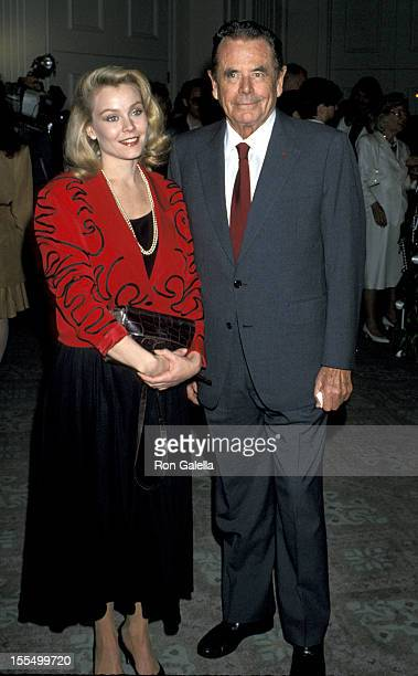 Glenn Ford and Gail O'Grady at the 49th Annual Golden Apple Awards, Beverly Hills, CA at the Beverly Hilton Hotel