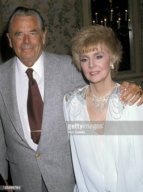 Glenn Ford and Peggy McCay at the Golden Apple Awards Beverly Hills CA at the Beverly Wilshire Hotel