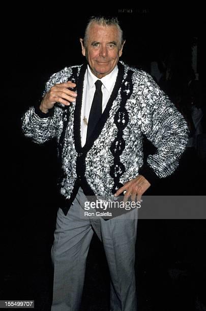 Glenn Ford Leaving Spago's Restaurant, Hollywood, CA