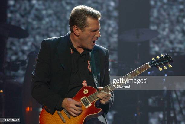 Glenn Frey during The Eagles and Dixie Chicks Benefit for Recording Artists Coalition at MCI Center in Washington DC United States