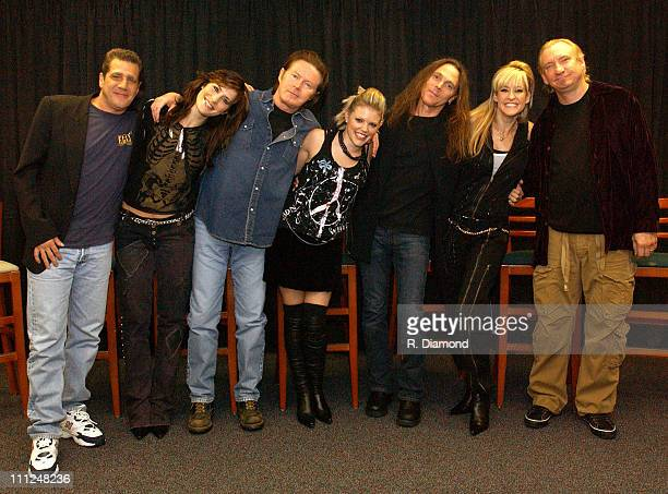 Glenn Frey Emily Robison Don Henley Natalie Maines Timothy B Schmit Martie Maguire and Joe Walsh