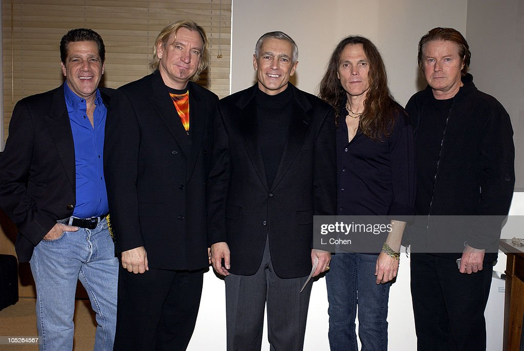 The Eagles Perform at Fundraiser for General Wesley Clark at Morton's Restaurant