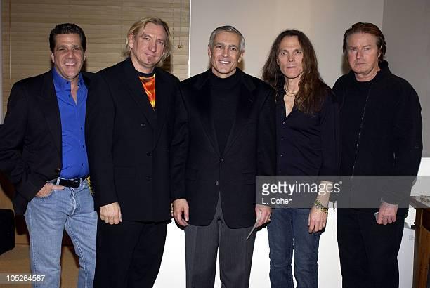 Glenn Frey Joe Walsh Wesley Clark Timothy B Schmit and Don Henley