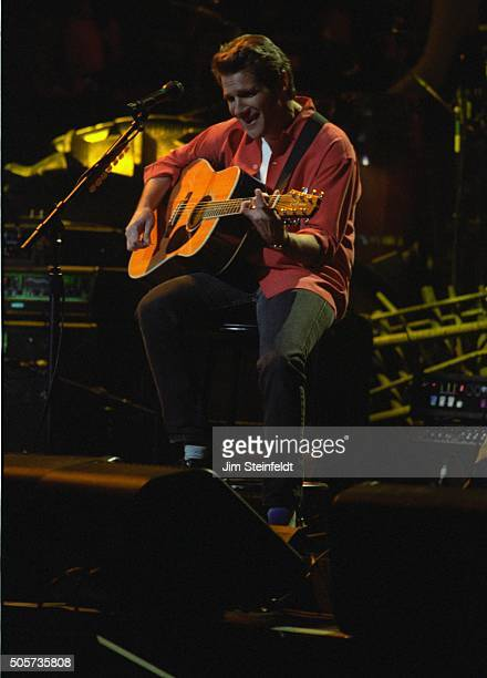 Glenn Frey of the Eagles perform at the Target Center in Minneapolis Minnesota on February 22 1995