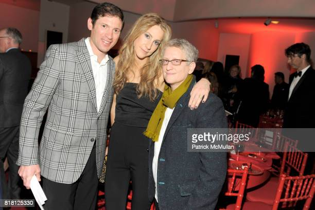 Glenn Fuhrman Amanda Fuhrman and Roni Horn attend 2010 GUGGENHEIM International Gala at Solomon R Guggenheim Museum on November 8 2010 in New York...