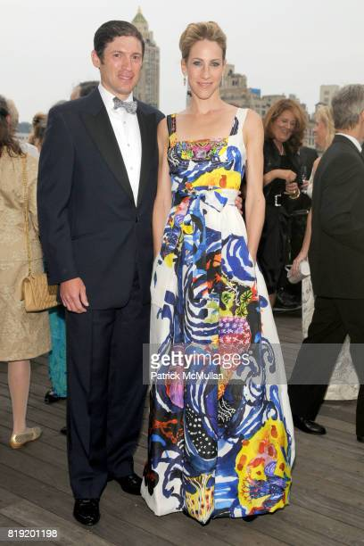Glenn Fuhrman and Amanda Fuhrman attend HAUT BRION 75th Anniversary at The Metropolitan Museum of Art on July 12 2010 in New York City